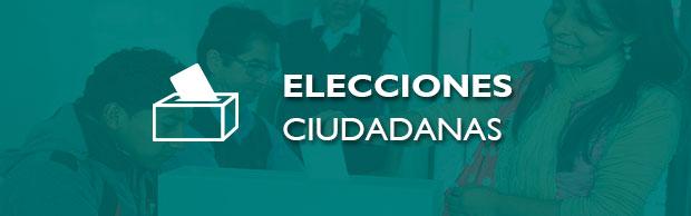 ELECCIONES CIUDADANAS