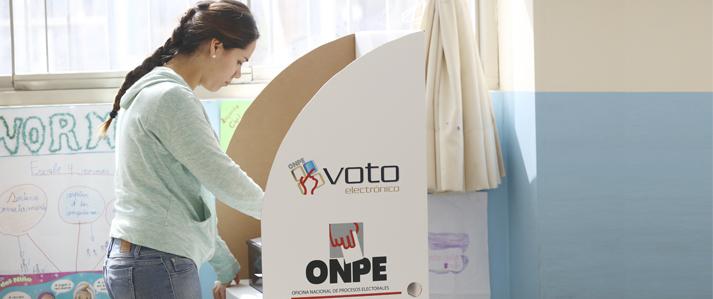 ONPE puso la tecnología al servicio de la democracia en los últimos cuatro años