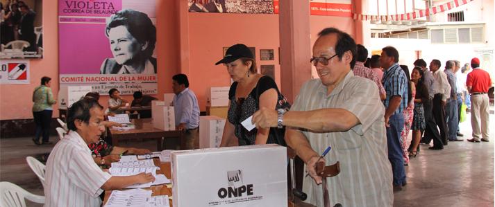 Acción Popular elige candidatos con asistencia técnica de la ONPE