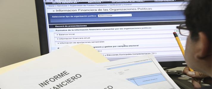 Organizaciones políticas reportaron ingresos/aportaciones de campaña por más 142 mil soles y gastos por más de 100 mil soles en última elección municipal