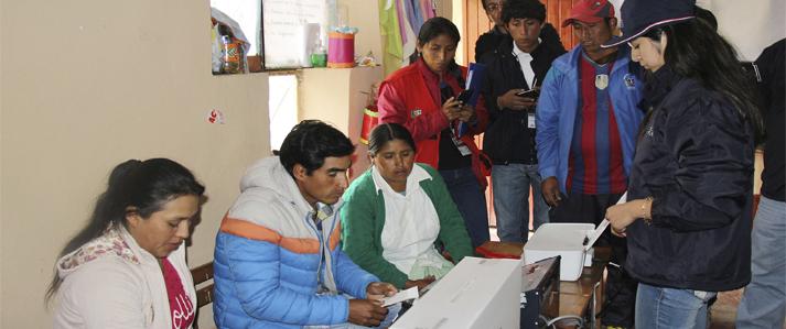 En sólo 30 minutos se obtuvieron resultados oficiales  con voto electrónico en última elección municipal