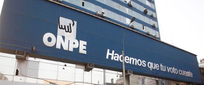 ONPE tendrá 60 oficinas descentralizadas con miras a las Elecciones Generales de 2016