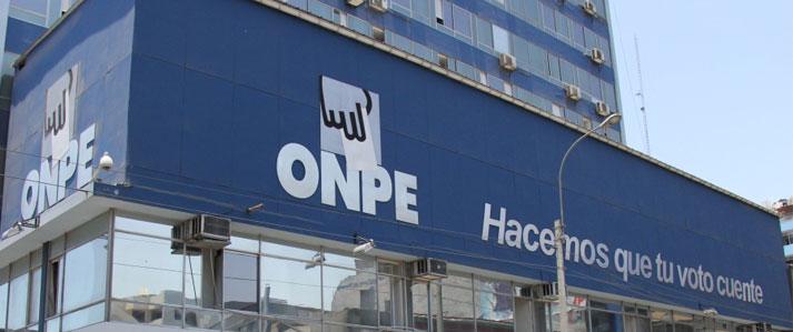 ONPE capacitará a partidos para la correcta presentación de informes financieros de campaña electoral