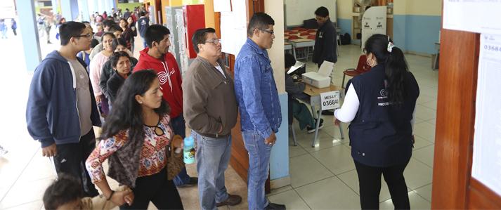 Participación ciudadana superó el 80% en la Segunda Elección Presidencial