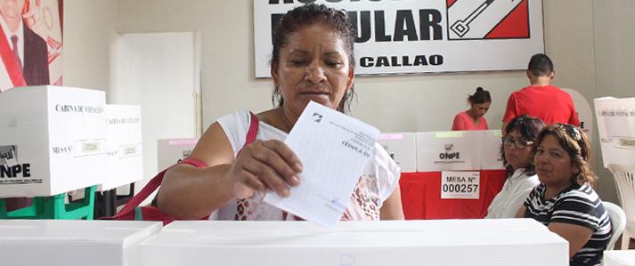 ONPE: partidos deben respetar la cuota de género para elección candidatos al Congreso y Parlamento Andino