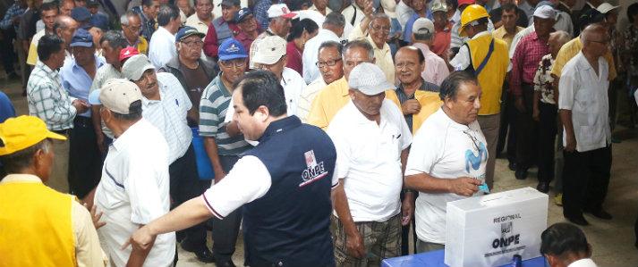 Ocho partidos políticos y un movimiento regional del Callao solicitan apoyo a ONPE para organizar elecciones internas