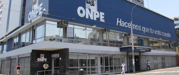 ONPE solicita más de S/. 14 millones para el financiamiento público directo a los partidos durante el 2017