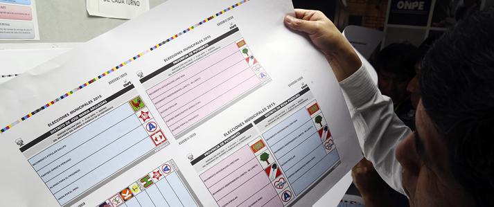 ONPE imprime más de 37 mil cédulas de sufragio para elecciones municipales del 29 de noviembre