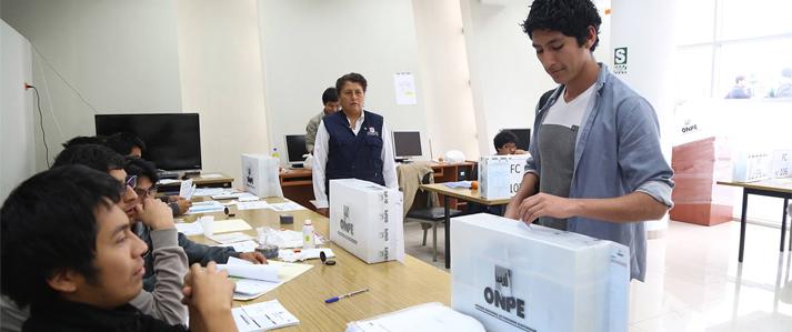ONPE brindará asistencia técnica a elecciones en la Universidad Nacional Mayor de San Marcos