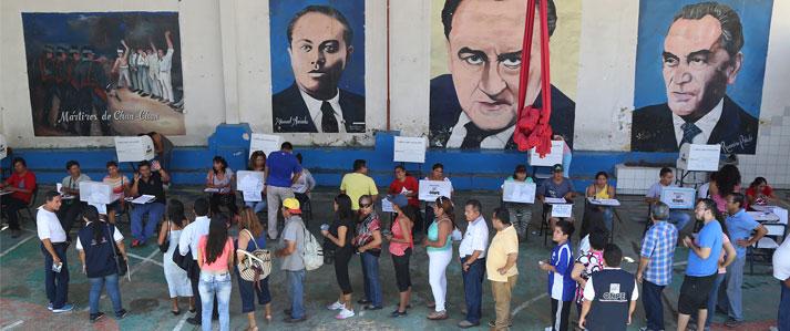 ONPE brinda asistencia técnica a elecciones internas del Partido Aprista