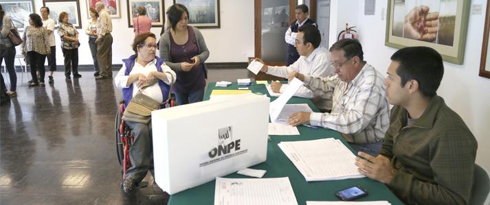 Eligen la próxima semana a las juntas vecinales comunales de la Municipalidad de Lima con apoyo de la ONPE