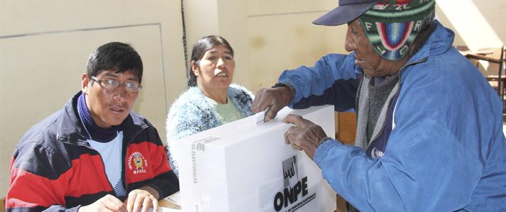 ONPE inicia amplia campaña informativa para la Consulta Popular de  Revocatorias de 11 de junio