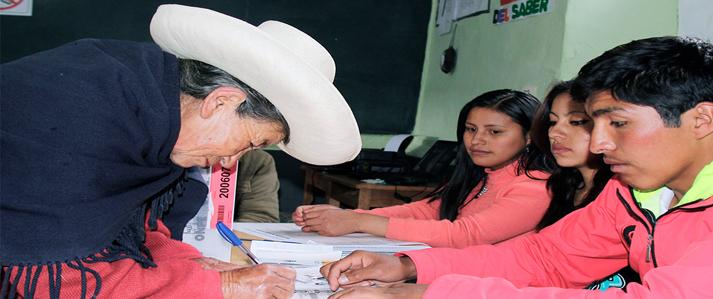 Cajamarca: ONPE realiza coordinaciones con las instituciones públicas para la Segunda Elección Presidencial