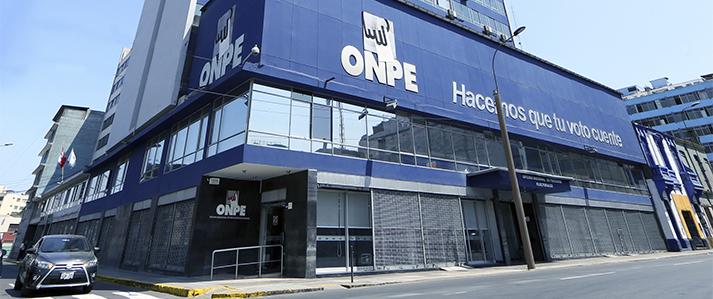 ONPE busca acelerar entrega de resultados y mejorar democracia  interna y transparencia en finanzas partidarias