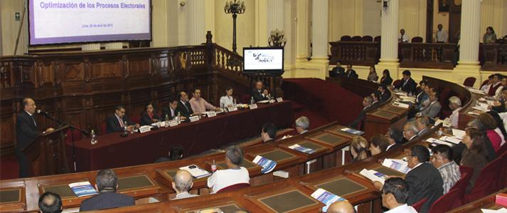ONPE: Con reforma electoral se puede contribuir a fortalecer nuestra democracia