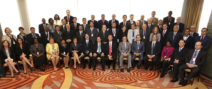 Jefe de ONPE expuso en Brasil sobre financiamiento de la política y reforma electoral