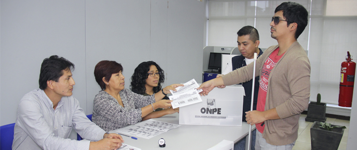 Reiteran llamado a  ciudadanos con algún tipo de discapacidad para que se empadronen en ficha virtual de la ONPE