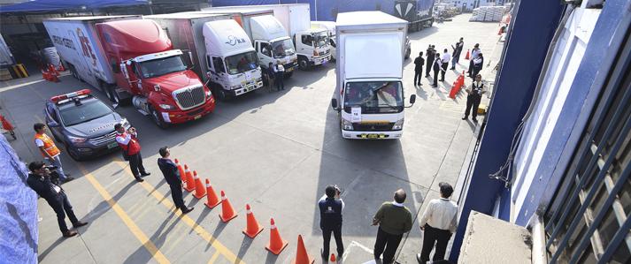 Más de mil locales de sufragio de Lima y Callao son abastecidos por la ONPE con el material electoral