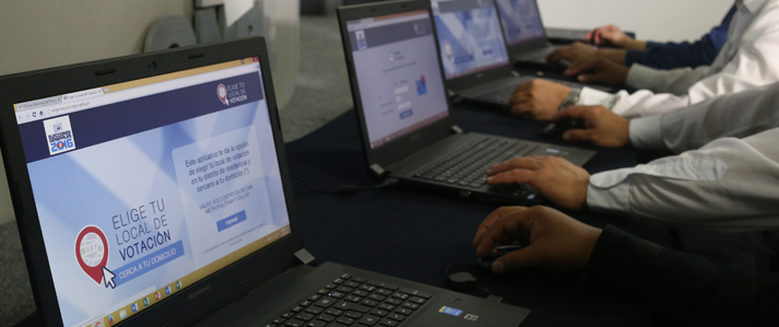ONPE insta a ciudadanos de Lima y Callao no esperar el último momento para elegir su local de votación