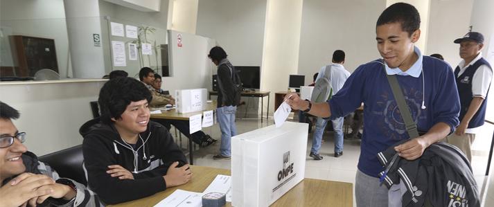 La UNI elige nuevo rector en segunda vuelta con asistencia técnica de la ONPE