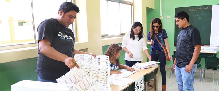 ONPE invoca a miembros de mesa asumir temprano sus cargos para dar inicio a la votación