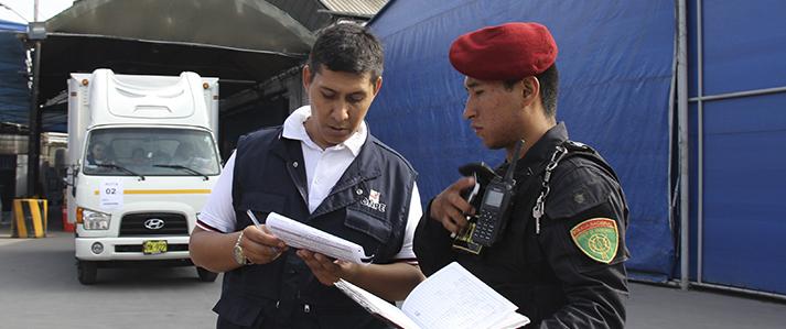 ONPE desplegó material electoral para las Elecciones Municipales 2017