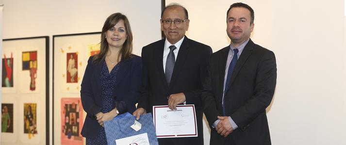 ONPE recibe premio Democracia Digital 2015 por capacitación virtual a actores electorales