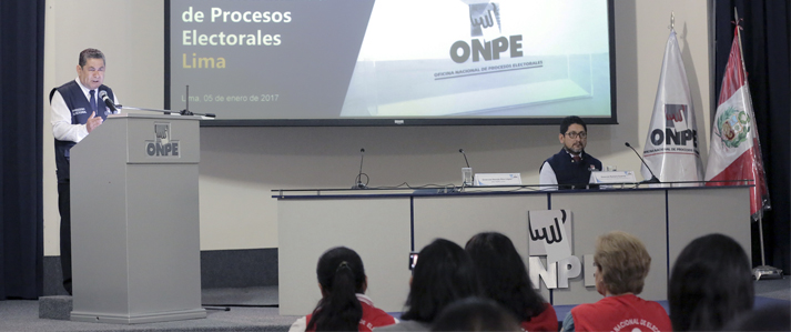 ONPE instala ODPE para organizar elección municipal en tres nuevos distritos de reciente creación