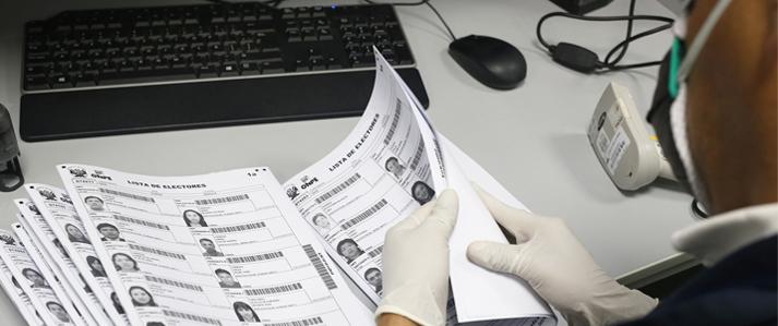 ONPE inicia la impresión de más de 77 mil actas-padrón para la Segunda Elección Presidencial