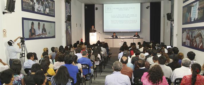 ONPE expondrá propuestas de reforma electoral este viernes 04 de noviembre