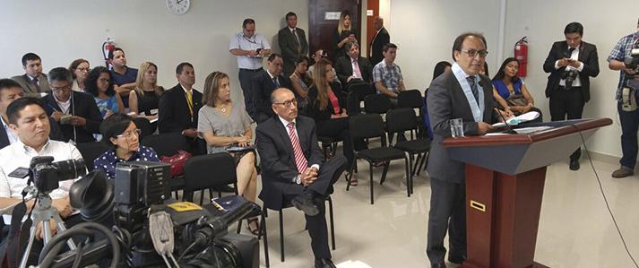 Mariano Cucho: La ONPE tiene que seguir siendo un organismo electoral técnico e independiente