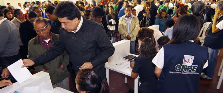 ONPE brinda asistencia técnica a partidos políticos para sus elecciones internas