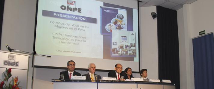 ONPE: Estamos dando pasos significativos para poner la tecnología al servicio de la democracia