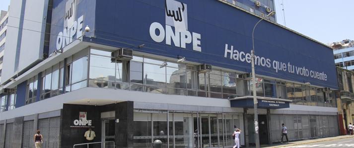 ONPE realizará este domingo simulacro oficial de Sistema de Cómputo Electoral