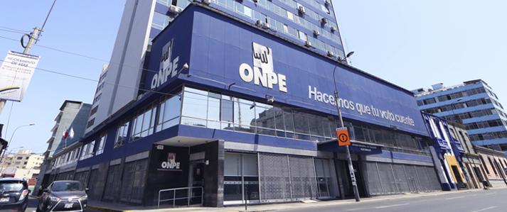 ONPE plantea eliminar aportes anónimos en los casos de actividades de financiamiento proselitista