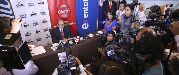 ONPE descarta retraso en la impresión de las cédulas para las Elecciones Generales 2016