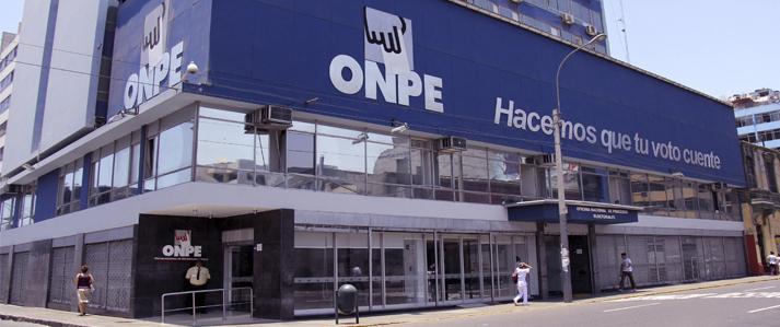 ONPE suspende asistencia técnica a las elecciones generales 2016 de la Universidad Nacional Federico Villarreal