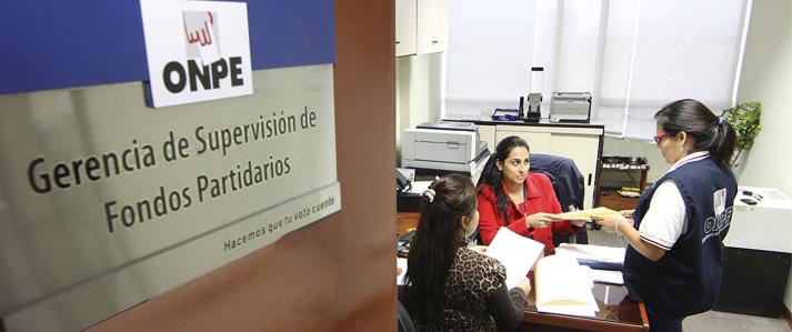 ONPE: Ingresos por más de 12 millones de soles reportan en conjunto diecisiete organizaciones políticas durante el 2015