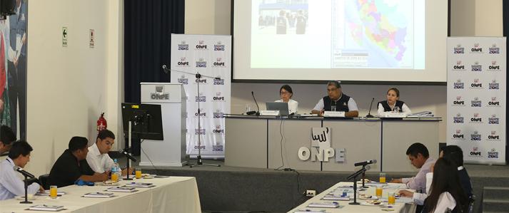 Capacitación presencial y virtual desarrollará la ONPE para los miembros de mesa