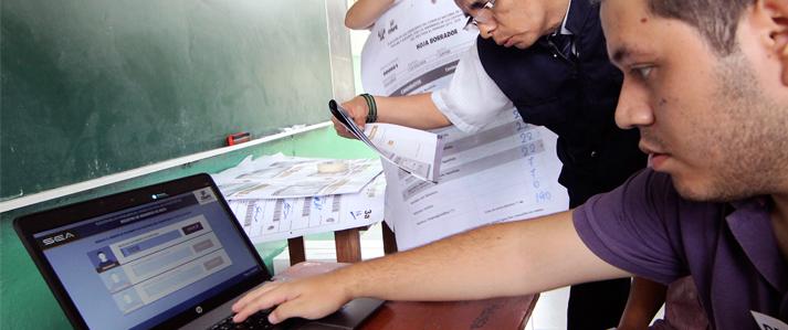 ONPE implementará Sistema de Escrutinio Automatizado en la región Ica durante Elecciones Generales 2016