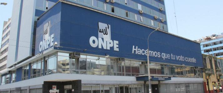 """ONPE volverá a recibir al Ministerio Público para diligencia de """"Exhibición de Documentos Originales"""""""