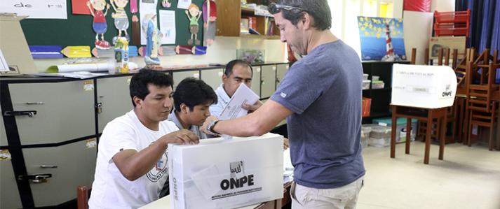 Limeños eligen este domingo a sus representantes en las Juntas Vecinales Comunales del municipio capitalino