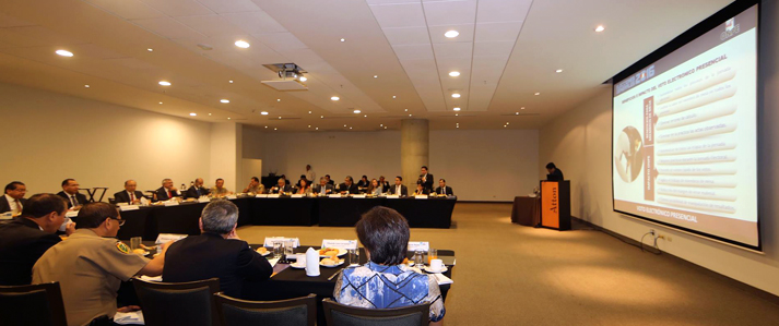 ONPE coordinó apoyo de instituciones para garantizar normal desarrollo de Elecciones 2016