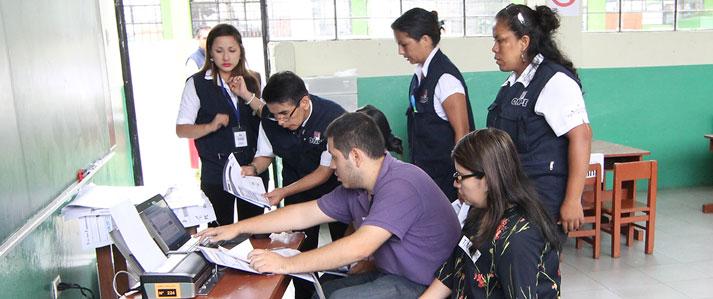 ONPE realizará dos jornadas de capacitación para miembros de mesa