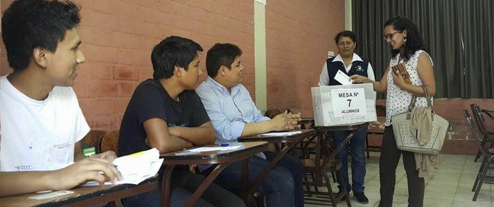 ONPE brinda asistencia técnica a la Universidad Agraria La Molina en la elección de sus nuevas autoridades