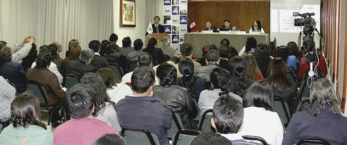 ONPE organiza taller para la elaboración del informe financiero en Cajamarca
