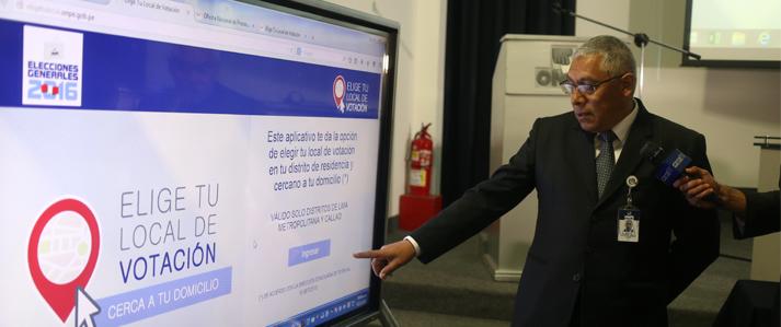 Electores de Lima y Callao deberán confirmar sus locales de votación para Elecciones de 2016