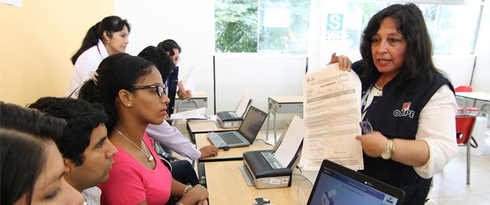 El 7 de marzo ONPE inicia la capacitación de actores electorales