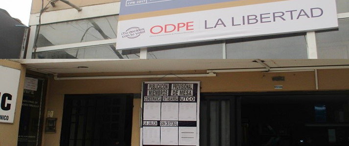 Capacitan personal de la ODPE La Libertad para revocatorias en Amazonas, Cajamarca y La Libertad