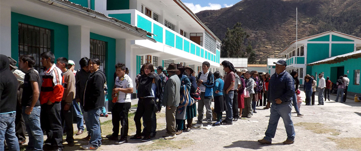 Más de 34 mil electores concurren hoy a las urnas para elegir sus primeras autoridades municipales